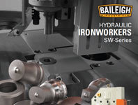 Alpha Industrial - Baileigh Hydraulic Ironworker