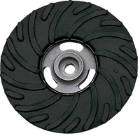 Backing Pads and Accessories - Rubber Backing Pads for Fibre Discs - Ribbed Type
