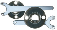 Backing Pads and Accessories - Spare Retaining Nuts & Spanner Wrenches