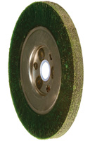 Crimped Wheel Brushes - Narrow Face - ECAP® Encapsulated