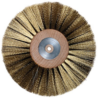 Crimped Wheel Brushes - Platers Brushes
