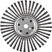 Knot Wheel Brushes - Expansion Joint Cleaning Brushes