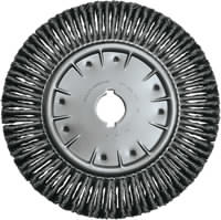 Knot Wheel Brushes - Full Cable Twist - Single Row COMBITWIST®