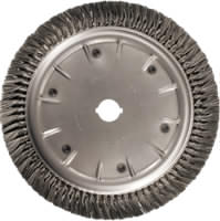 Knot Wheel Brushes - Heavy Duty - Short Trim