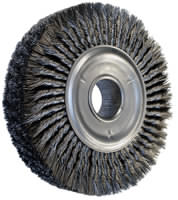 Knot Wheel Brushes - Pipe Cleaning Brushes