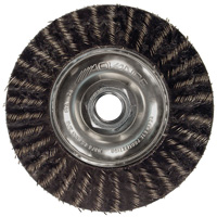 Threaded Knot Wheel Brushes - Stringer Bead Twist - ECAP® Encapsulated